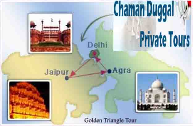 Golden Triangle Tour Travel chaman duggal